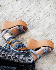 Kork-Ease X People Heights Platform Sandals 10 Denim