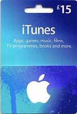 Authentic 15 GBP Apple iTunes Gift Card codice certificato £ 15 STERLINE UK British
