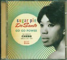 💥Sugar Pie Desanto - Go Go Power: The Complete Chess Singles 1961-66 Cd Mint