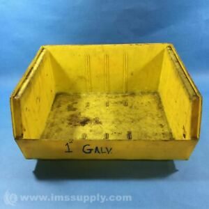 Global 550114 Yellow Storage Bin USIP