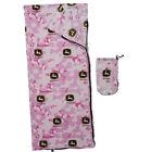 John Deere Pink Camo Sleeping Bag for Girls