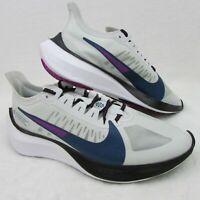 Nike Air Zoom Gravity Women's Gray Running Shoes BQ3203-007 Size 12 Eur 44.8
