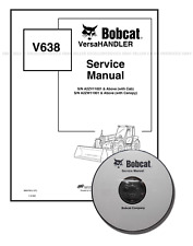 Bobcat V638 VersaHANDLER Workshop Repair Service Manual 6904755 CD + Download