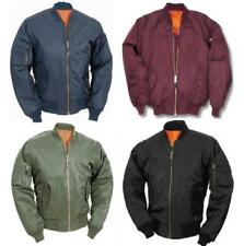 Abrigos y chaquetas de hombre negro sin marca de piel