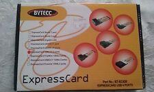 Bytecc Usb 2.0 4 Port ExpressCard For Laptop/Notebook Pc Bt-Ec420