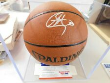 STEPHEN CURRY Autographed 2010 ROOKIE GRAPH PSA/DNA #64029 Spalding Basketball