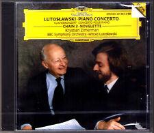 Krystian ZIMERMAN: Witold LUTOSLAWSKI Piano Concerto Chain 3 Novelette DG CD NEU