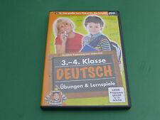 Cd-Rom : Deutsch  3 und 4 Klasse, Übungen & Lernspiele