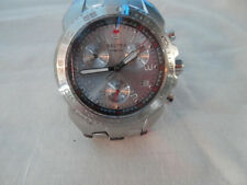 """Sector 300 Sapphire Crystal Chronograph Stainless  Swiss Watch 63298 7.25"""""""