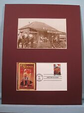 Paul Newman - The Life and Times of Judge Roy Bean &  First day Cover