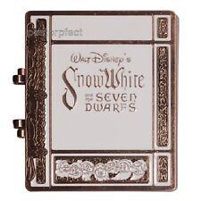 Disney Pin D23 Snow White 7 Dwarfs Storybook Princess Jumbo Book Compact Mirror