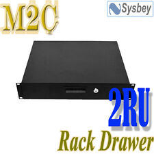 "2U 19"" Rack Mount Drawer Draw 14 inch Deep Fo Server Commputer Data Cabinet"