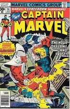 Captain Marvel Comic Book 51, Marvel Comics 1977 NEAR MINT