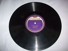 Vintage Brunswick Record – Number 5007 – Silver Threads Among The Gold