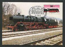 BERLIN MK 1985 490 EISENBAHN TRAIN RAILWAY MAXIMUMKARTE MAXIMUM CARD MC CM d2087