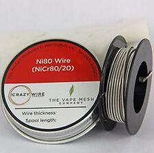ALIEN FILO-ni80 (nicr80 / 20) - 0,3 mm x 0.8 mm PIATTO avvolto con 0,2 mm (32 AWG)