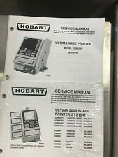 Hobart Ultima 2000 Scale Printer System Service Manual