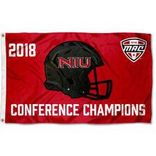 Northern Illinois Huskies MAC Football Conference Champions Flag Large 3x5