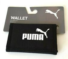 Puma Wallet  SE Pouch Zip Change Pocket Black 100% Genuine Brand New