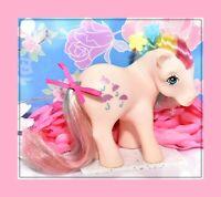 ❤️My Little Pony MLP G1 Vtg ITALY Italian Rainbow PARASOL Variant NIRVANA❤️