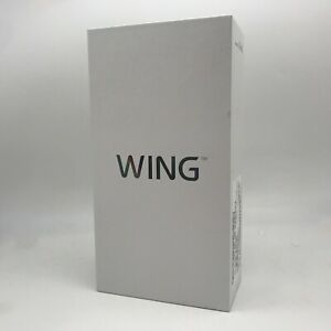 LG Wing 5G 256GB 8GB RAM Aurora Gray Verizon Locked - NEW & SEALED!