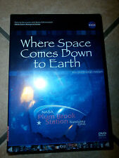 WHERE SPACE COMES DOWN TO EARTH DVD Plum Brook Station NASA Sandusky Ohio