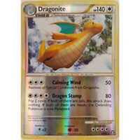 Dragonite 18/102 Rare Holo Reverse Pokemon - HS Triumphant - EN NM