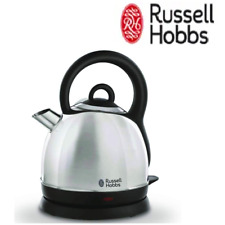 1.8L Russell Hobbs Cordless Electric Kettle Stainless Steel Dome Water Heating