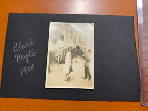ALASSIO SAVONA 1926 Fotografia MOGLIO