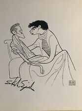 Stephen Spinella Signed Al Hirschfeld Print - ANGELS IN AMERICA - Broadway