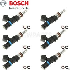 For BMW M3 08-13 E90 E92 E93 Set of 6 Fuel Injectors BOSCH 0280158164 12 Seals