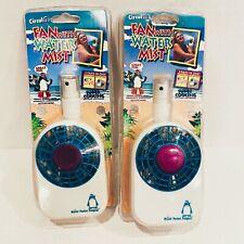 New listing Set 2 80s Vintage Circulair Mister Pocket Penguin 1250 New Sealed Beach Fan