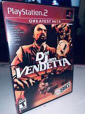 Def Jam: Vendetta Greatest Hits (PlayStation 2, PS2, 2003) No Manual!! Very Good