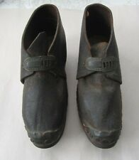 Antique Clogs Shoes Pair Restore