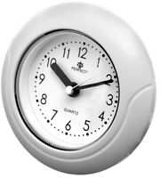 PERFECT - Small Bathroom Clock, Hanging or Standing