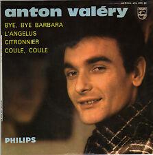 ANTON VALERY BYE, BYE, BARBARA FRENCH ORIG EP IVAN JULLIEN