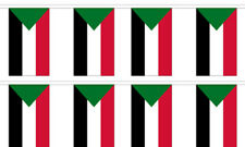 Sudan Sudanese 12x18 Bunting String Flag Banner (8 Flags)