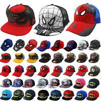 Kinder Jungen Mädchen Basecap Kappe Sommer Mütze Superheld Micky Baseball Caps