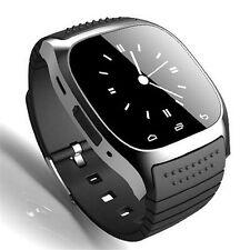 M26 Smartwatch RWatch Schwarz mit Deutschem Handbuch für iOS+Android