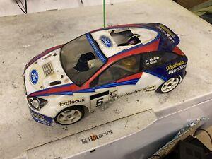 Vintage Kyosho Pureten Gp Alpha 3 Nitro Rc Rally Car