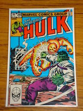 INCREDIBLE HULK #285 VOL1 MARVEL COMICS JULY 1983