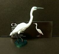 Kaiyodo Animatales Choco Q Series 11 Great Egret White Heron Bird Figure