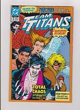 """1992 DC Comics """"Team Titans"""" Comic Book Variant Cover #1 """"Nightrider"""""""