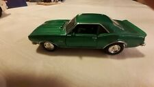 Welly Green 1968 Chevy Camaro friction power diecast muscle car 1:34 1:39 scale