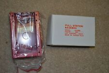 Federal Signal 4050BB Pull Station Mount Back Box Red Fire Alarm FREE SHIPPING
