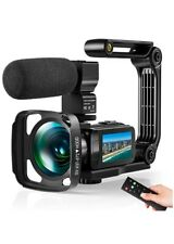 Video Camera Ultra 2.7K Camcorder HD 36MP Digital Vlogging Recorder with IR