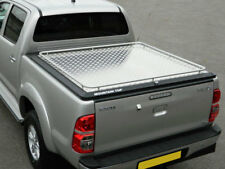 Toyota Hilux 05-15 D Cab Mountain Top Alloy Chequer  Tonneau Cover  MT TO 8000 A