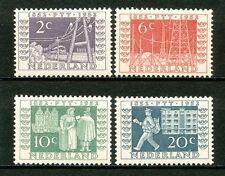 Nederland  588 - 591 ongebruikt