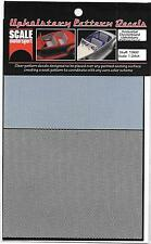 Hi Quality Upholstery Pattern Horizontal Checkerboard Decals 1/24 SMO 1960 ST
