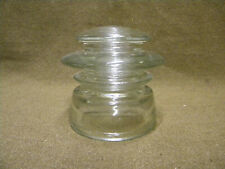 Tasse isolateur US IN15 glass insulator WWII WW2 lineman signal corps telephone